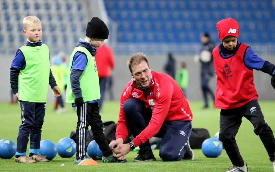 Trenerkurs for fotball-interesserte ungdommer