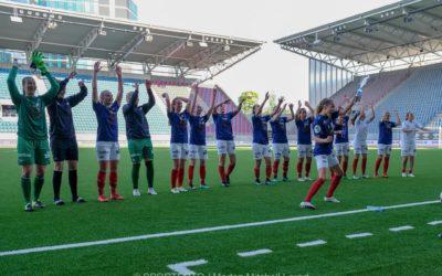 Bilder fra seieren mot Grand Bodø