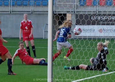 Schjeldrups 3-2 mål mot Grand Bodø som sikret oss seieren. Foto: Morten Mitchell Larød