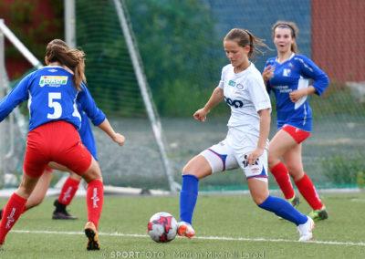 Marit Emaus Flaa ble kampens toppscorer med tre mål. Foto: Morten M. Larød
