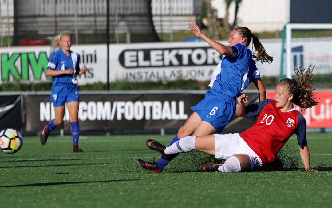 Emilie Østerås kaptein for Norge J16