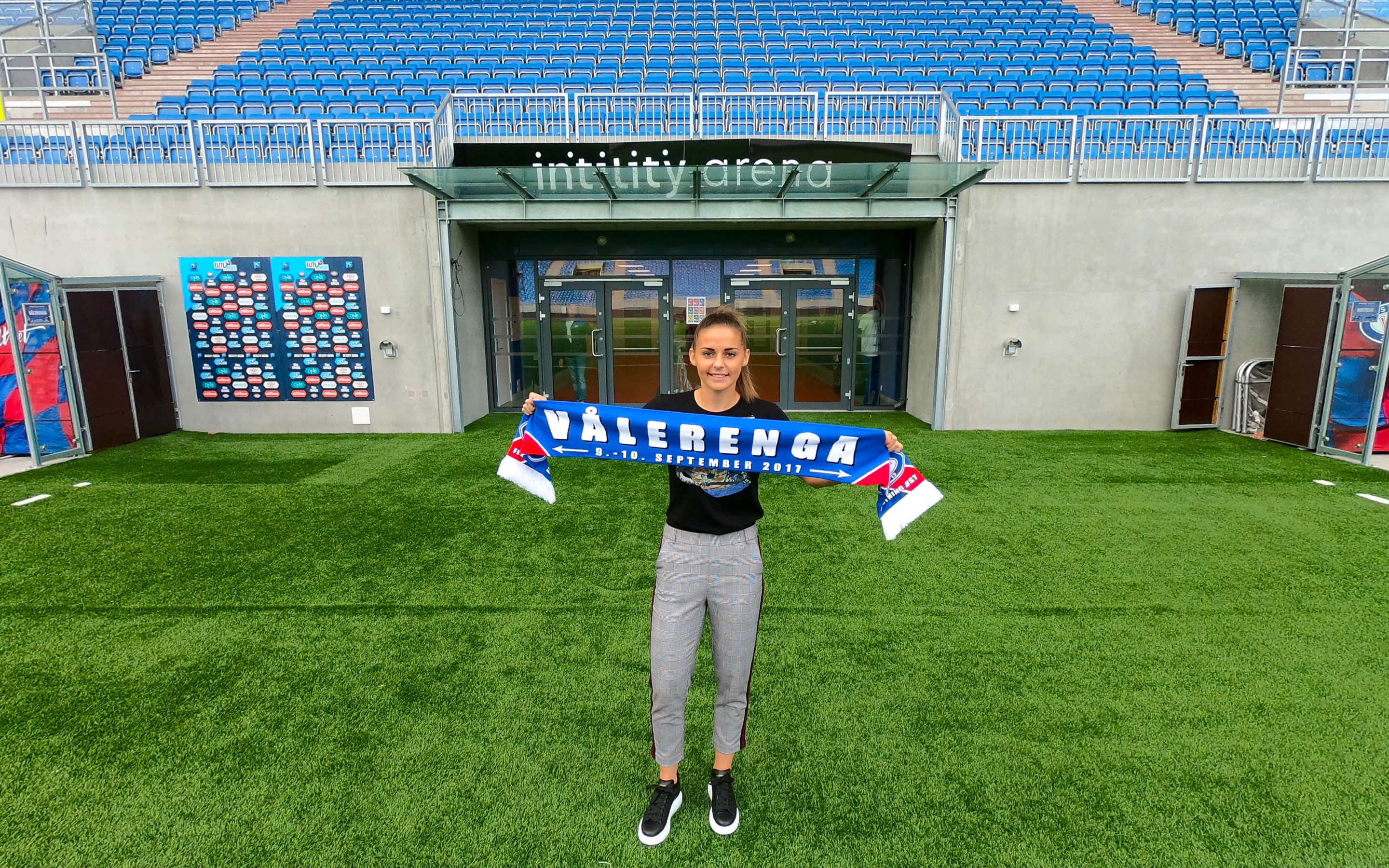 She's coming home – landslagsspiller til Vålerenga