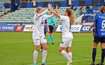 Ingrid Schjelderup ble nok en gang kampavgjørende mot Stabæk