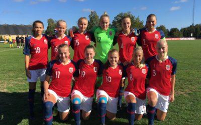 Det blir EM-kvalifisering på Celin Bizet Ildhusøy sammen med U19-landslaget