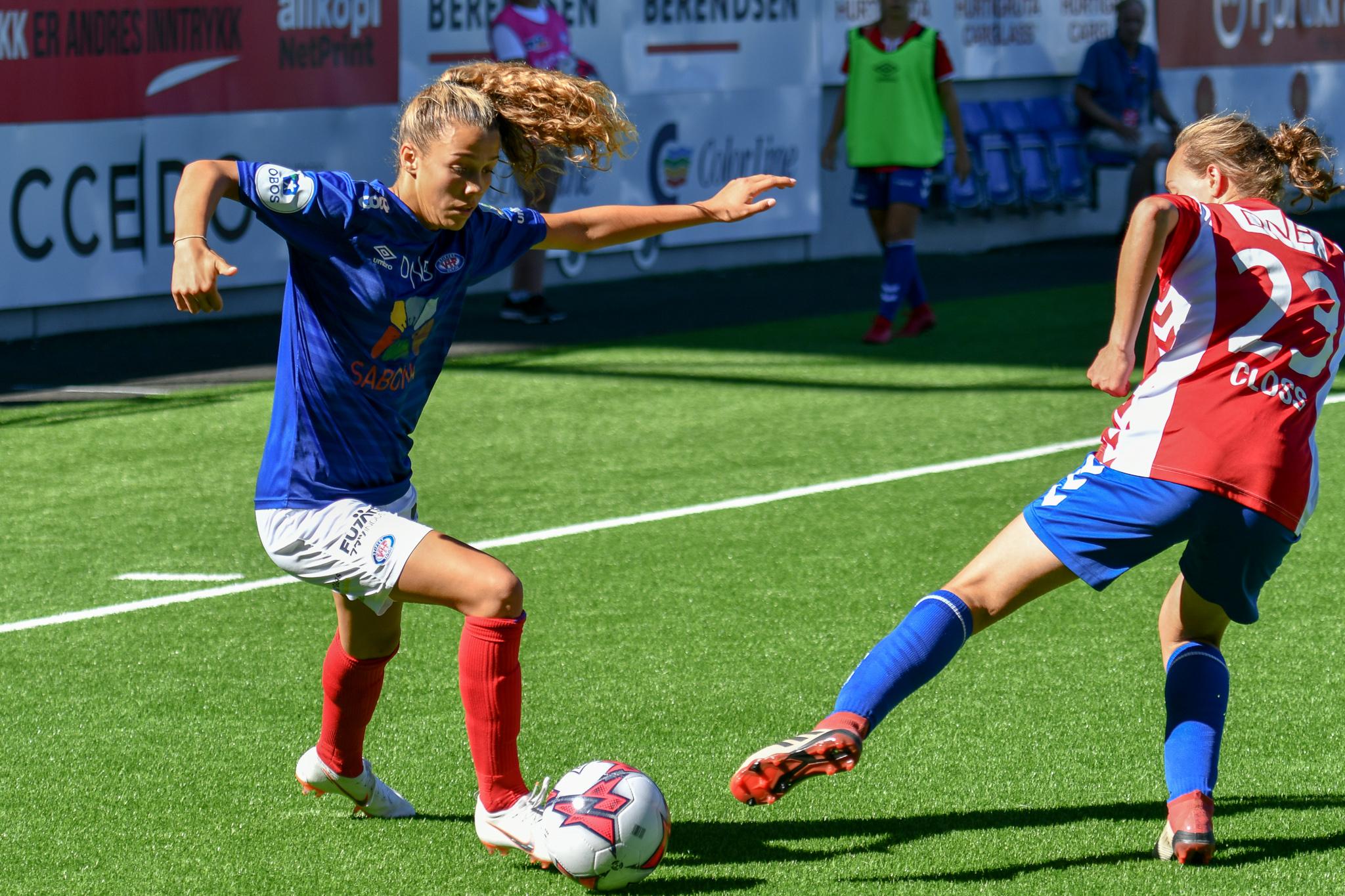 Celin Bizet Ildhusøy er klar mot Nederland og England