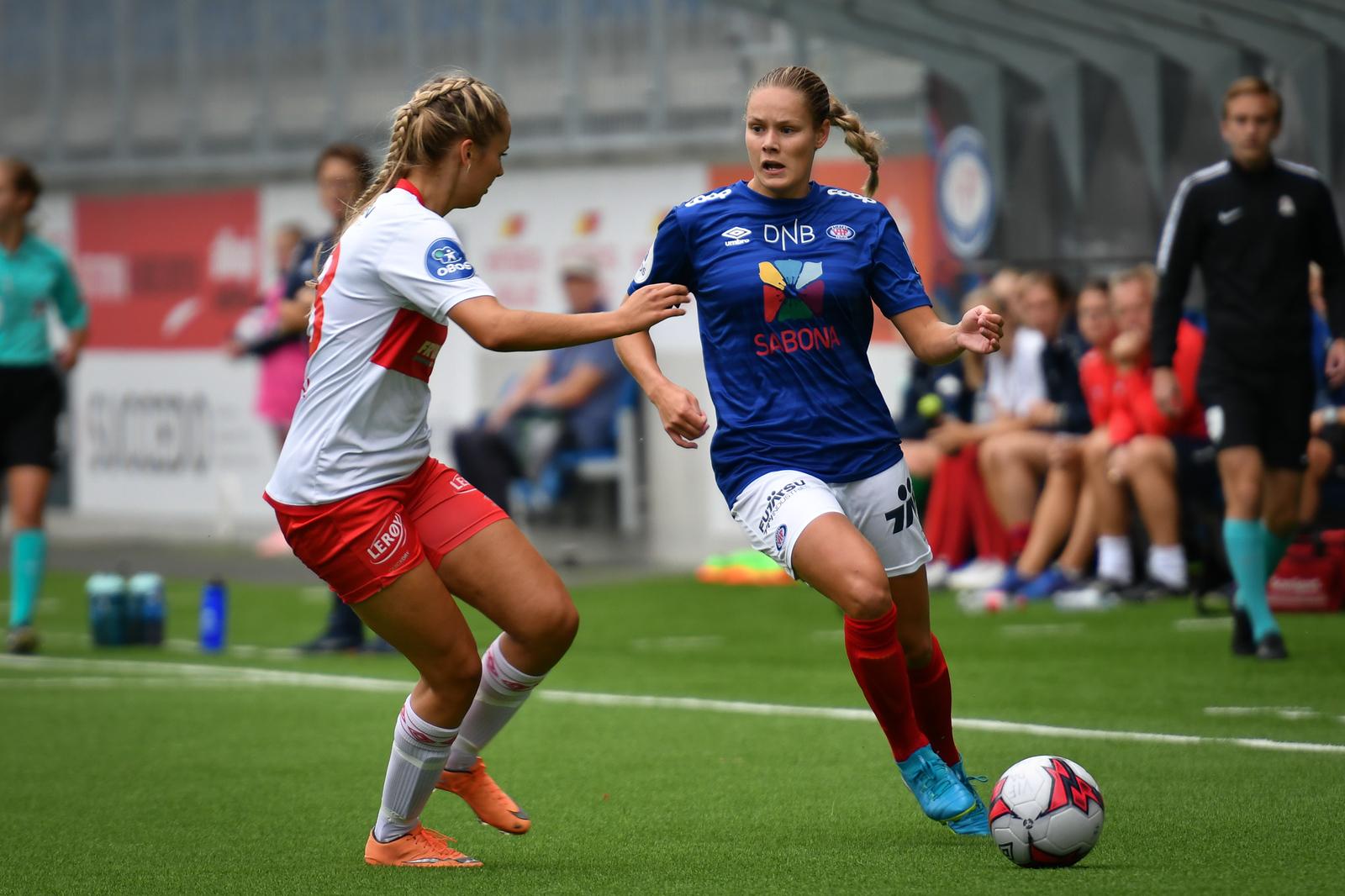 Ankelbrudd for Andrine Tomter
