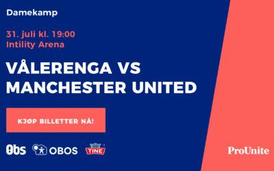 Billettinformasjon til kampen mot Manchester United