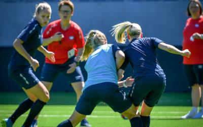 Vinn en treningsøkt med a-lagsspillere under Superhelgen