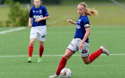 Emma Iversen på J15 landslaget