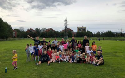 Vellykket jentefotballskole