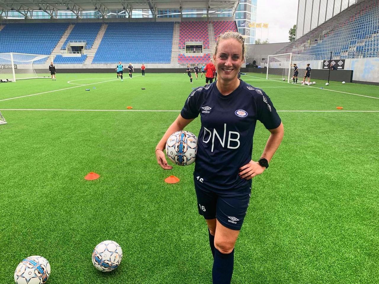 Ingrid Schjelderup tilbake i trening
