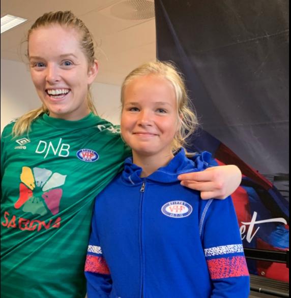 Amalie intervjuer Guro Pettersen