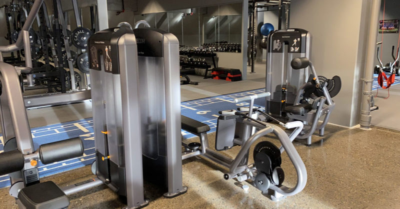 Trening hos Fitness Xpress med kickback