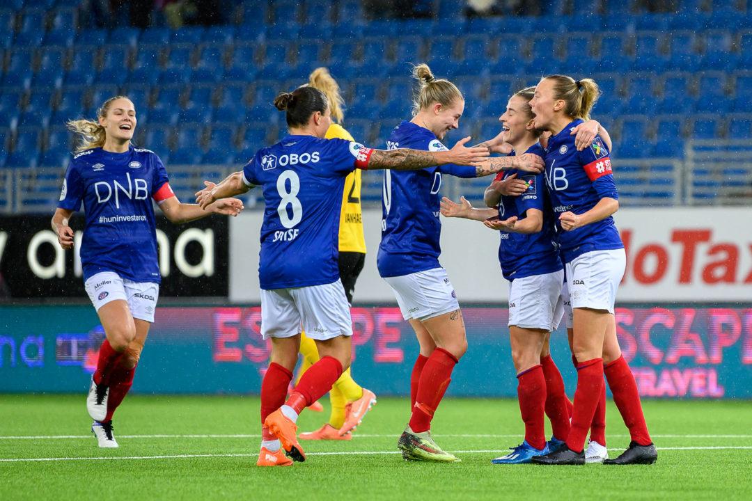 Nok en deilig seier over LSK Kvinner!