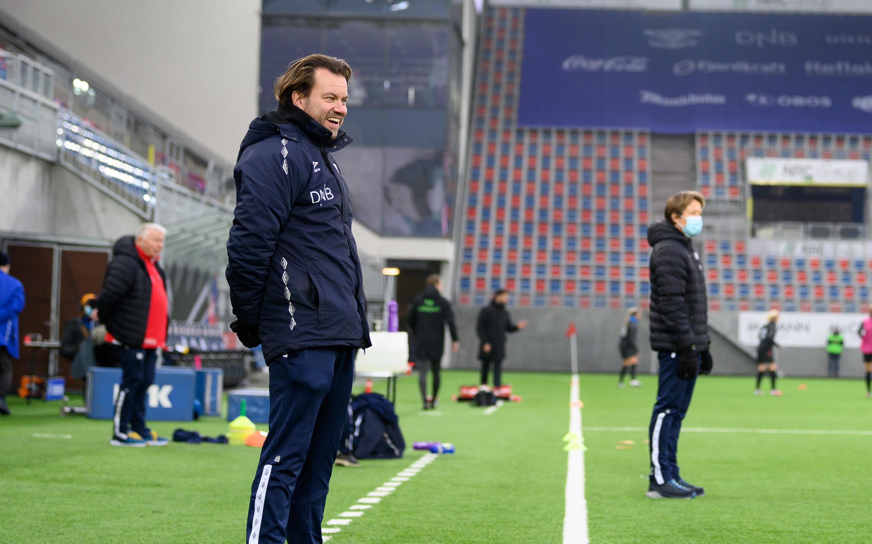 Godt humør før Brøndby-kampen