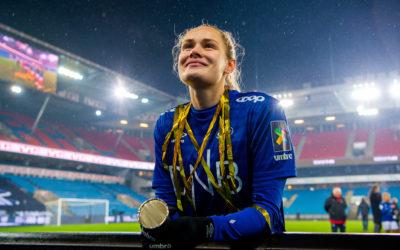 Andrine Tomter har signert for to nye år