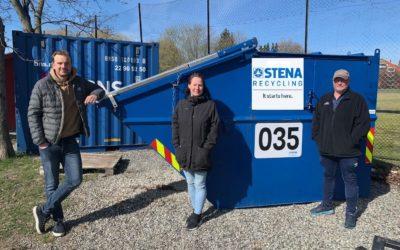 Stena Recycling blir vår miljøpartner